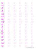 worksheets 2 telugu alphabets worksheets 3 telugu alphabets worksheets ...